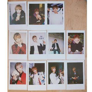 THE8/MINGHAO 2016 OFFICIAL BOYSWISH CONCERT PHOTOCARDS