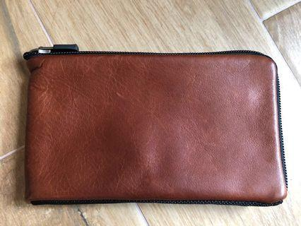 Waterfield Finn Full-grain leather wallet