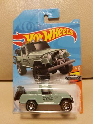 Hotwheels Jeep 綠