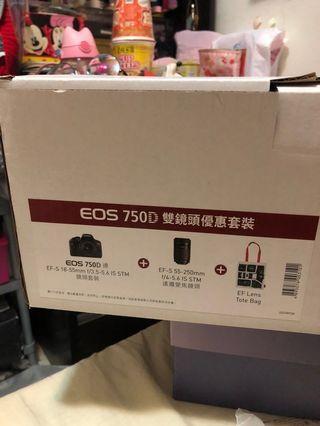 EOS 750D雙鏡頭優惠套裝
