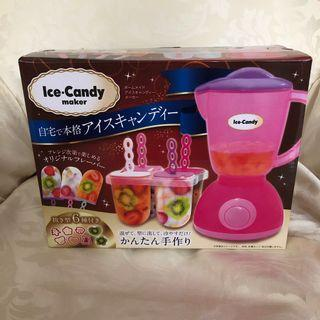 Japanese Homemade Ice Candy Maker
