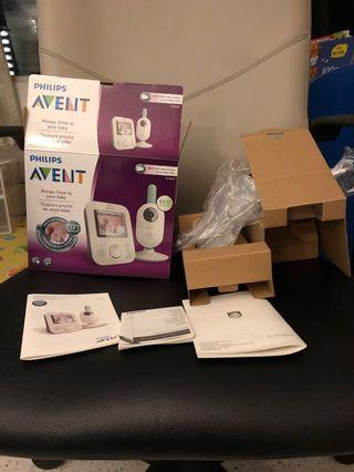 Philips SCD 620 box and package baby monitor