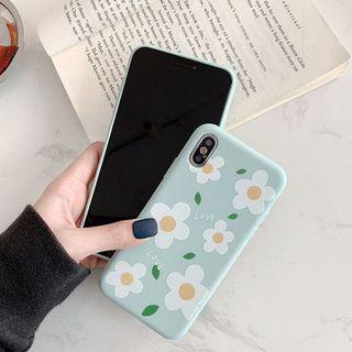 (免運)泫雅花朵OPPO R15標準版手機殼
