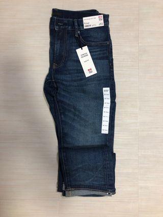 Uniqlo Men's Selvedge Slim Fit Jeans W30
