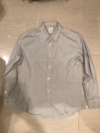 Visvim shirt stripe pattern