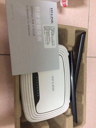 TP LINK 300Mbps 無線路由器