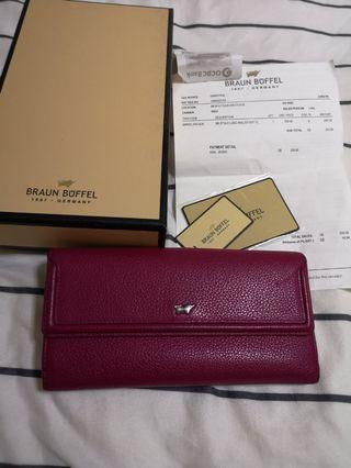 Braun Buffel ladies long wallet