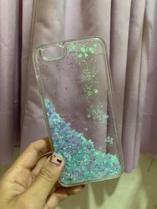 Glittery case