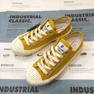 (9成新)正品 excelsior 黃色餅乾鞋 實圖私訊