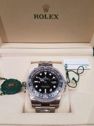 Rolex GMT Master II 116710LN Dec 2018