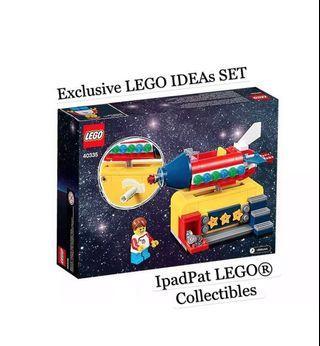 🚚 [Exclusive] LEGO® Ideas 40335 Space Rocket Ride [BNIB]