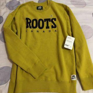 🚚 Roots 棉長袖 女L
