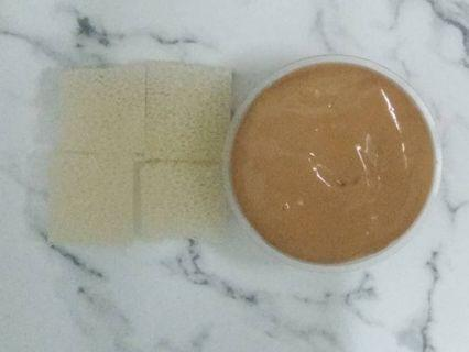 Peanut butter with toast slime