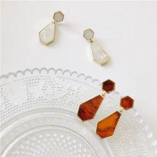 Elegant Marble Earring
