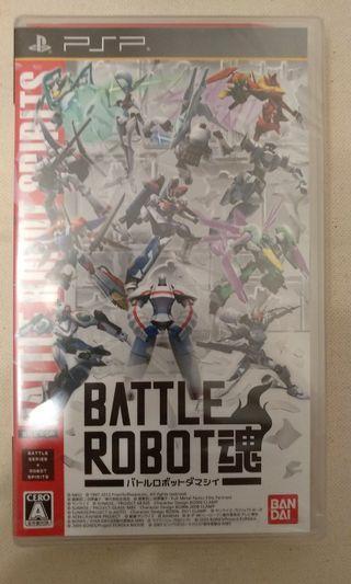 PSP - Battle Robot 魂 (日版)