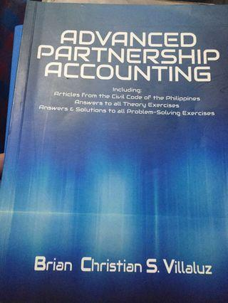 Advanced Partnership Accounting