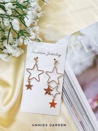 Little Gold Star Earring