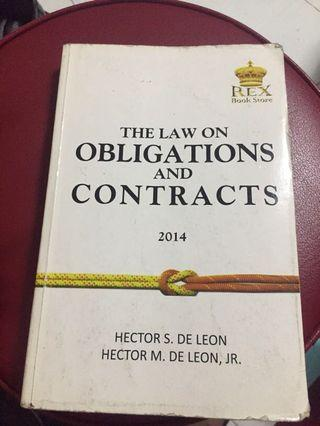 Law on Obligations and Contract 2014