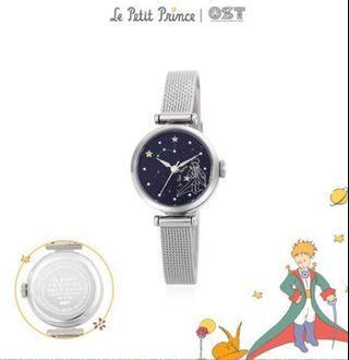 (Po) Korea OST X Little Prince Watch Silver/Black OWT119601TSS