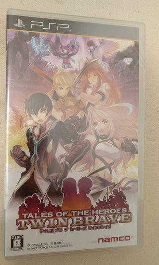 PSP - Tales of the Heroes Twin Brave (日版)