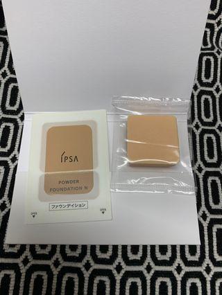 IPSA Powder Foundation N 輕柔透光雙色粉餅