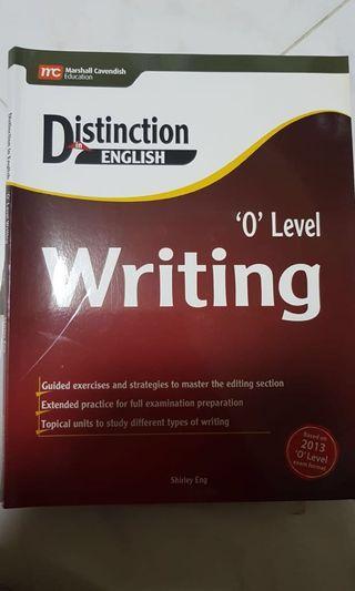 🚚 O level Writing Distinction English Marshall Cavendish