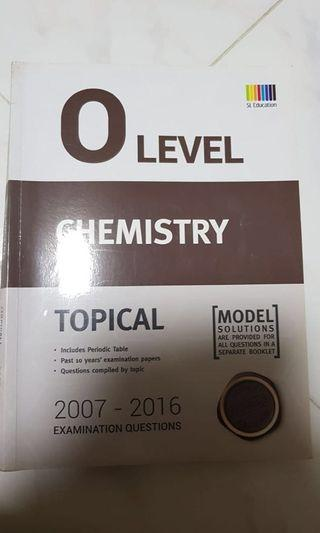 🚚 O Level Chemistry Topical SL Education
