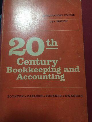 20th century Bookkeepingg and Accounting