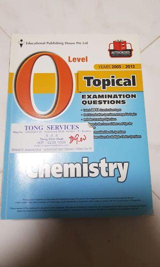 🚚 O level topical chemistry examination questions