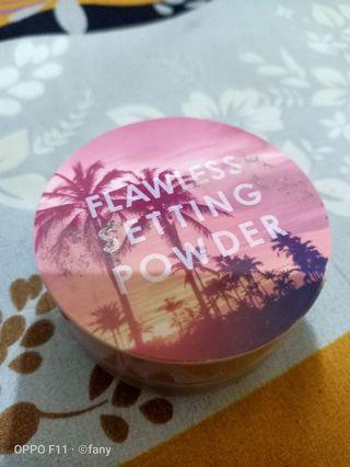 bedak tabur/lose powder/setting powder
