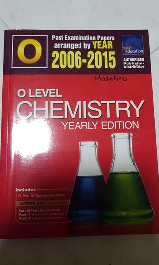🚚 O level chemistry yearly edition SAP education