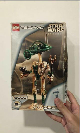BRAND NEW LEGO Technic Star Wars Pit Droid 8000 EPISODE 1
