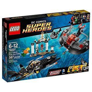 🚚 Black manta deep sea strike 76027 Lego aquaman