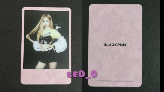 WTS Blackpink Kill This Love Polaroid and Photocard
