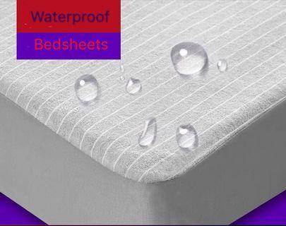Waterproof bedsheets pillow sheets prevents babies pet urine