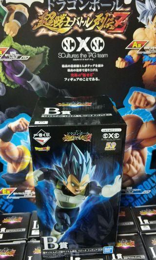 Dragonball Prize B Vegeta Inchiban Kuji 2019