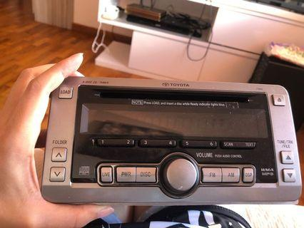Head Unit for Toyota double din