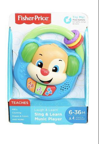 🚚 Fisher Price Laugh & Learn Music Player