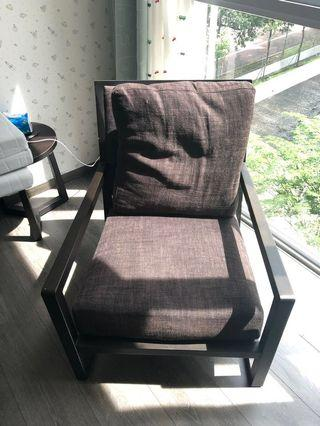 Camerich solid wood sofa chair