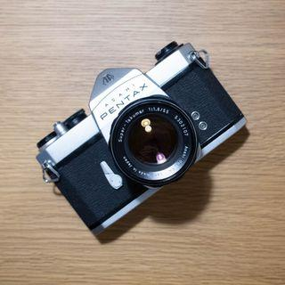 Pentax Spotmatic SL M42 Film Camera 55mm F1.8 Lens