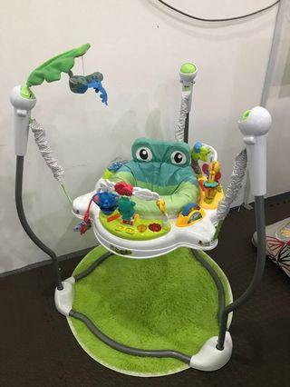 Jumperoo Baby Swing with Music Like New (No Nego)