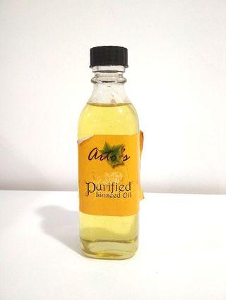 Arto's Purified Linseed Oil 100ml (FOR oil colour) fine art oil