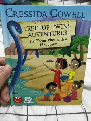 Treetops twins adventure (the twins play with a plesiosaur)