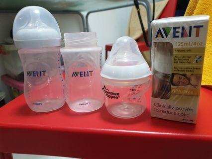 Avent Milk Bottles