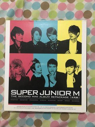 Super Junior M second mini album repackage (Perfection)