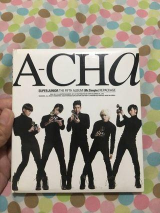 Super Junior A-Cha (5th album / Mr simple repackage)