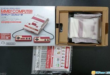 Nintendo 任天堂紅白機  ・型號:CLV-101(日本版)