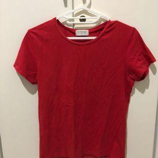Giordano Basic Red Top