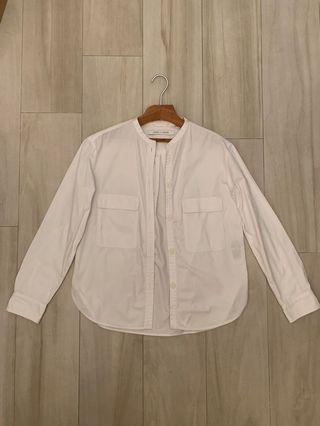 Lemaire x Uniqlo White Button Shirts