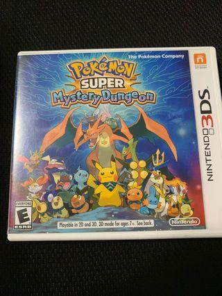 🚚 3DS Pokemon Mystery Dungeon
